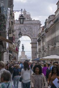 arco da rua Augousta