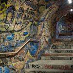 tunnel coloré de Cerbère