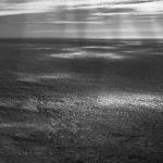 rayons de soleil sur mer